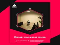 Upgrade your dining corner