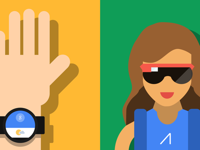 Wearables wearables gdg gdg wearables google illustration flat smartwatch gif android android wear google glass glass