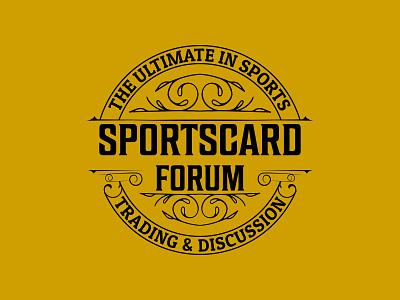 Sportscardforum luxury logo design retro vintage classic hipster