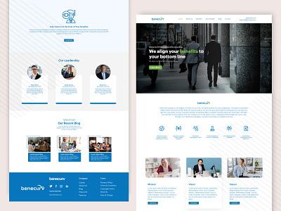 Financial  consulting Website Design branding