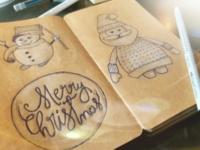 Christmas sketchs