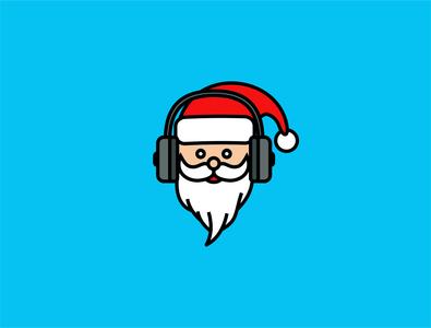 Santa music  icon
