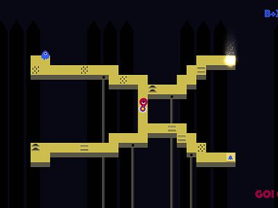 Wayfarer game art pvp games gamedev procedurally generated levels ggjblr ggj16