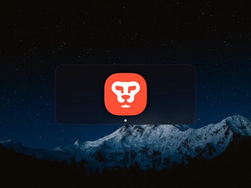 Brave Browser Replacement Icon dock lion freebie free app icon