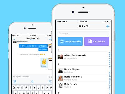 Sochat App messaging app android ios