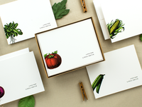 Farmstand note cards