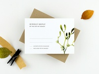 Hawthorn | Reply Card