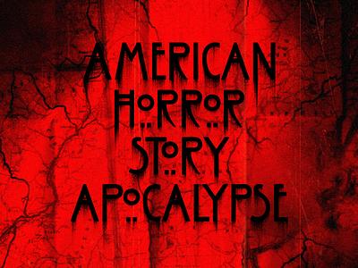 Apocalypse: Map horror spooky scary creepy motion design styleframe map apocalypse american horror story