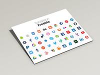 Social Icons Free-Psd