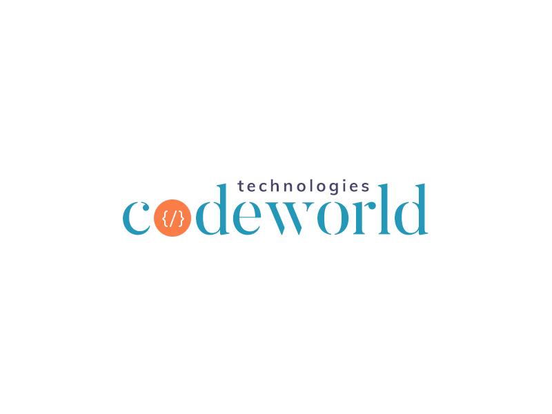 CodeWorld Technologies Logo design logo