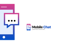 Mobile Chat Logo & Icon