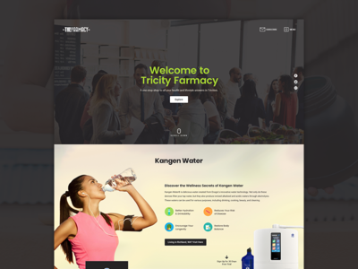 Tricity Cover design ui