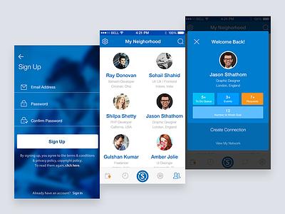 iOS Mobile App ux-deisng ui-design ios mobileapp