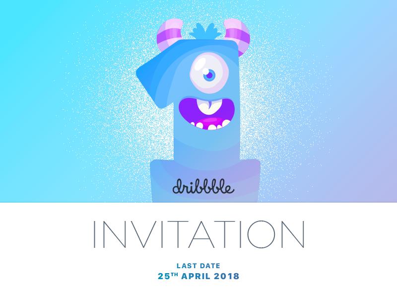 Dribbble Invitation dribbble invitation invitation