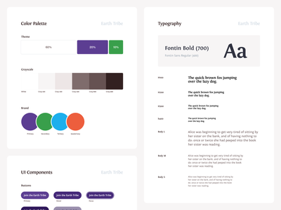 MVSG guides guidelines components color palette style guide styleguide product design design system design website web ui ux