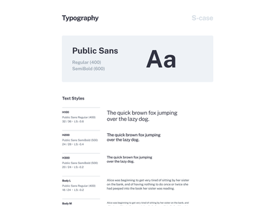 S-Case Style Guide ui kit visual language ui components ui elements typography designsystem styleguide style guide style guides pattern library library guidelines guide design system components color palette