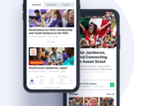 Scouts mobile iOS app