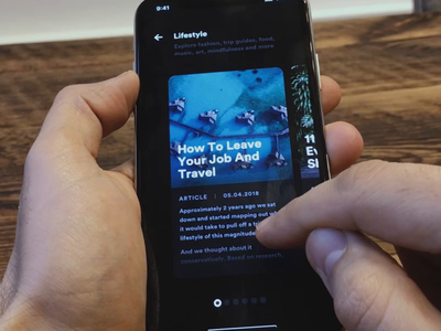 Articles article extreme surfing sport travel parallax principle sketch mobile app ios ui ux