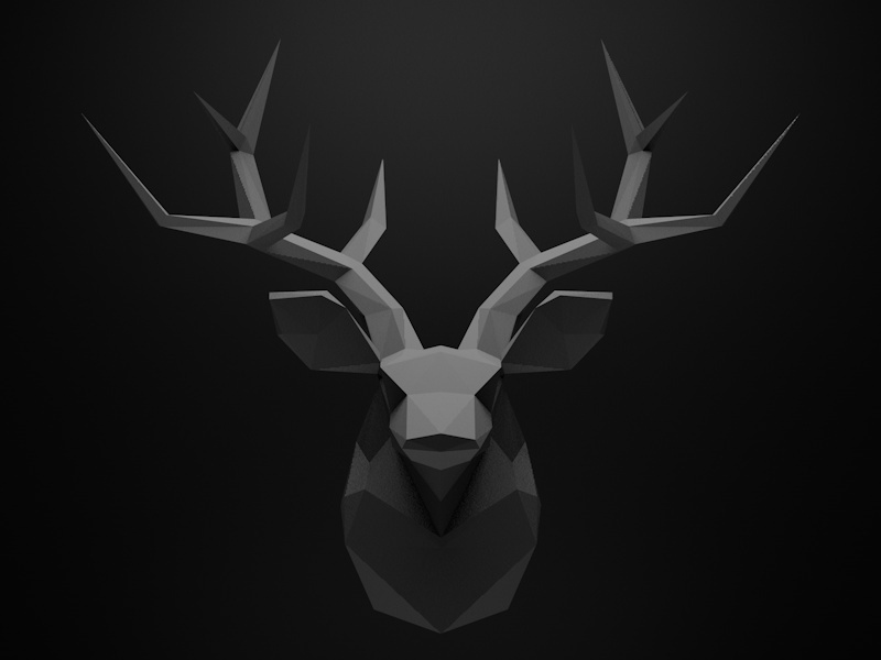 Stag Wallpaper By Rapota Alina Dribbble HD Wallpapers Download Free Images Wallpaper [1000image.com]