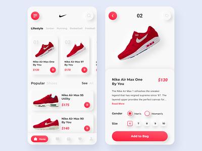 Shoes App flatdesign ui shoes store shoes app mobile ui mobile design mobile app