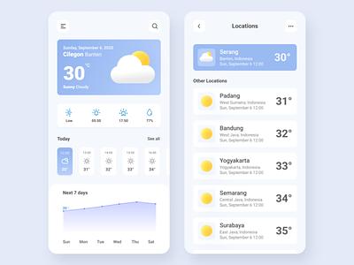 weather app weather mobile ui ux ui mobile app design mobile design flatdesign