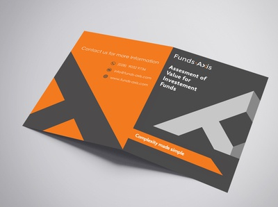 Brochure Design | Fund Axis