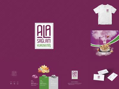 Ala Sağlam Kuruyemiş Logo & Brand Design