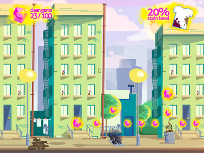 Gameplay Background Concept green concept illustration background game