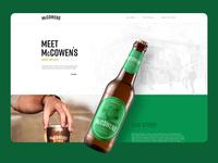 McCowen's Beer - website