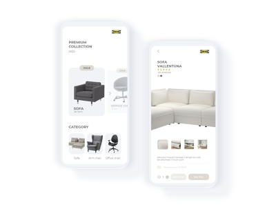Redesign Apps Store Ikea userinterface design user experience user interface workfromhome freelancer freelance white softui appstore userinterfacedesign userinterface uiux uidesign ui design ui