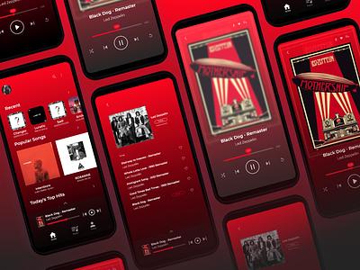 Music Apps music player ui design ui uiux appsdesign uidesign musicapps