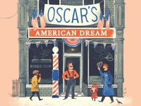Oscar's American Dream Book american history american story immigrant schwartz and wade random house picture book childrens book american dream