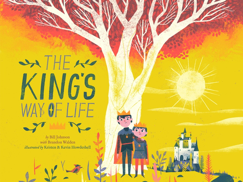 The King's Way of Life - children's book crown picture book childrens book compass castle prince kingdom