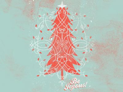 Christmas Card illustration christmas card