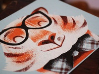 Tiger, printed!