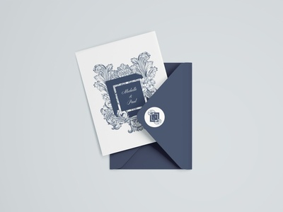 Wedding Invite with Envelope