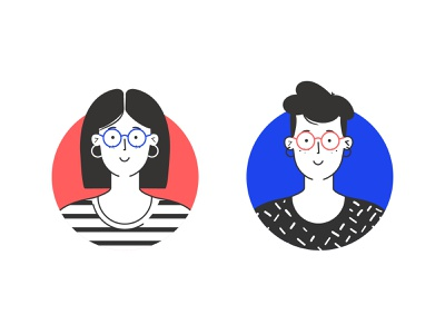 avatar avatar vector illustration