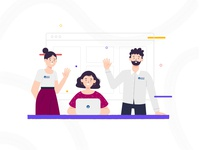 Personajes Portal Empleo