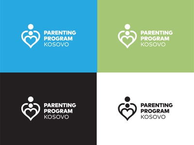 Parenting Program Kosovo vector adobe illustrator identity symbol design logo branding