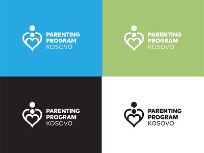 Parenting Program Kosovo vector adobe illustrator identity symbol design logo branding