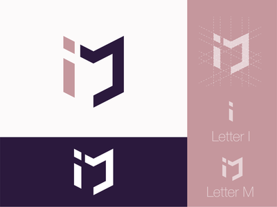 IM Logo 2020 first dribbble shot first shot first post logo design logodesign logo