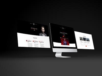 Public Speaker Booking Website webdesign website design website