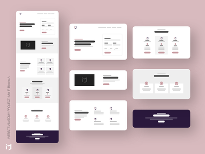 The Website Anatomy Project: Mid-Fi Design A