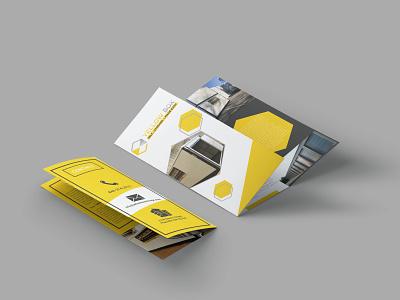 Trifold Brochure for Self Storage Box Dealer graphic design brochure layout brochure design