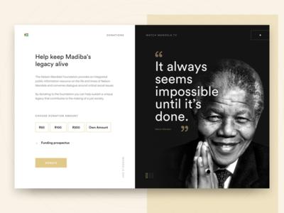 Donate Card - Mandela Day!