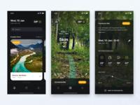 Iphonex hike app