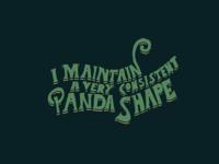 Panda Shape