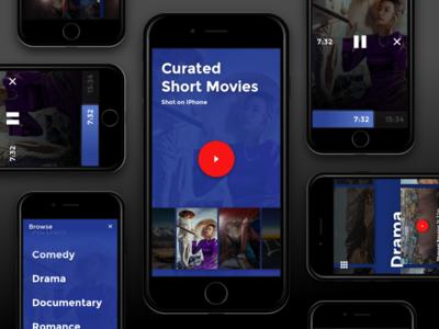 Curated film app
