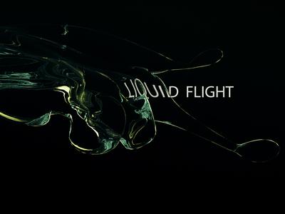 Liquid Flight render after effects modo 3d