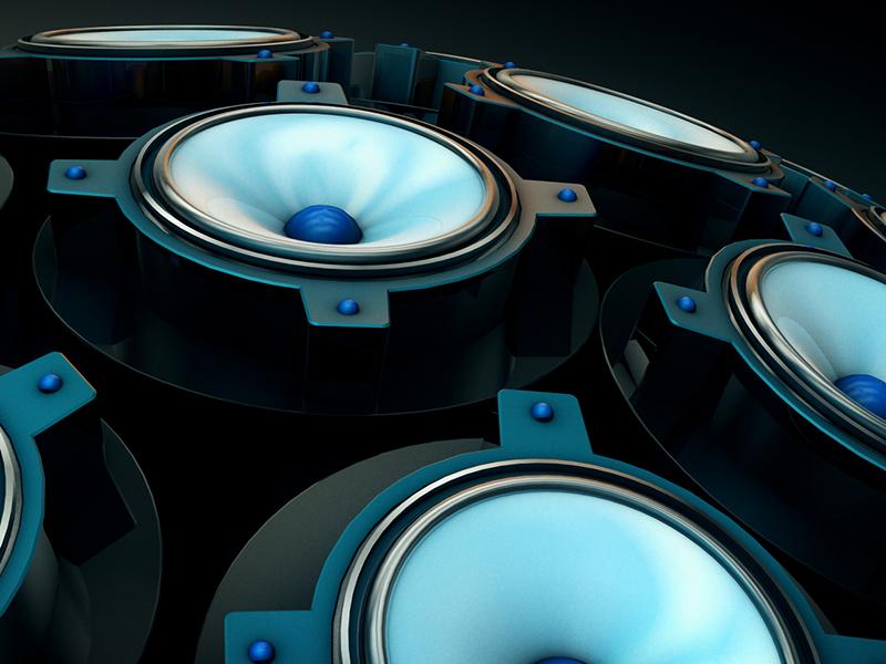 Speaker Ball render c4d motion graphics motion design 3d